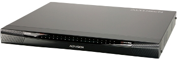 ALTUSEN 40-Port KVM over IP Switch - 1 local / 4 remote user access, 1U Rack