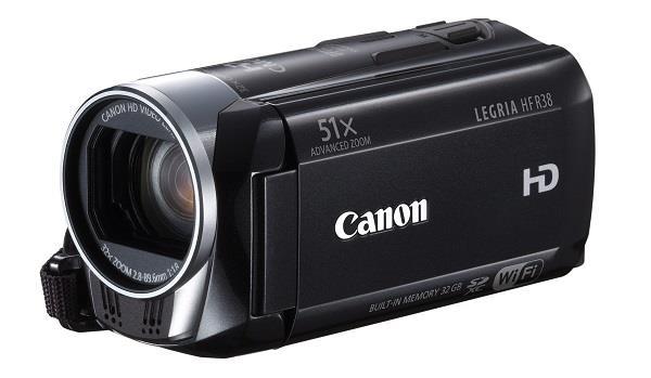 Digitální videokamera Canon HF R38