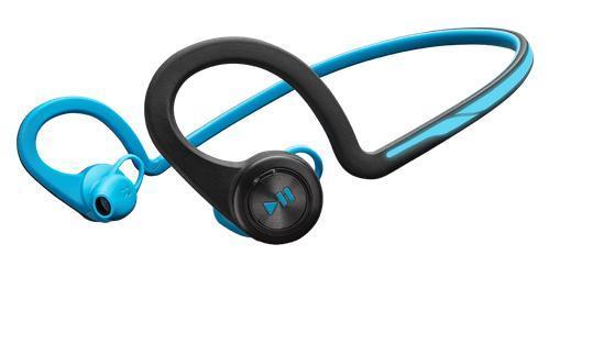 Plantronics BackBeat FIT Bluetooth sluchátka pro smartphony, záhlavní, modrá