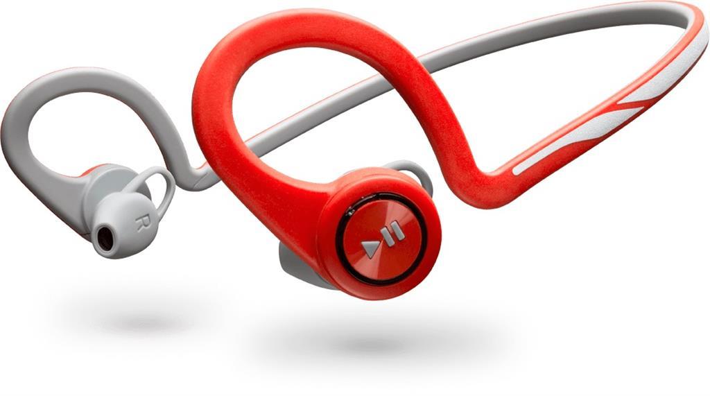 Plantronics BackBeat FIT Bluetooth sluchátka pro smartphony, záhlavní, červená