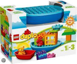 Lego Duplo Toddler Build and Boat Fun
