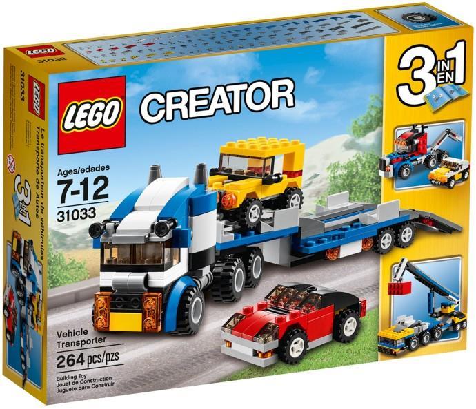Lego Kamion pro přepravu aut