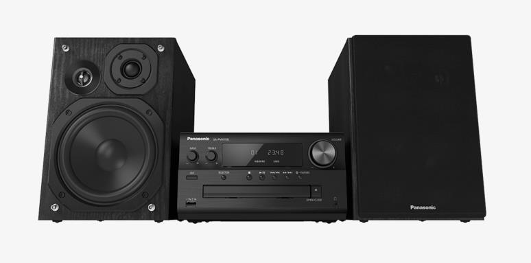 Mini audio system Panasonic SC-PMX70BEGK