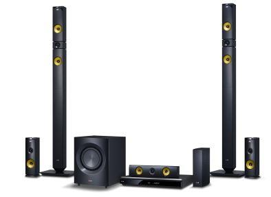 LG domácí kino, 3D Blu-ray, 9.1, 1460W, Aramid Fiber, Smart TV
