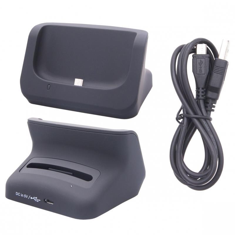 GT Dokovací stanice se slotem pro baterii pro Samsung I9500 Galaxy S4, černá