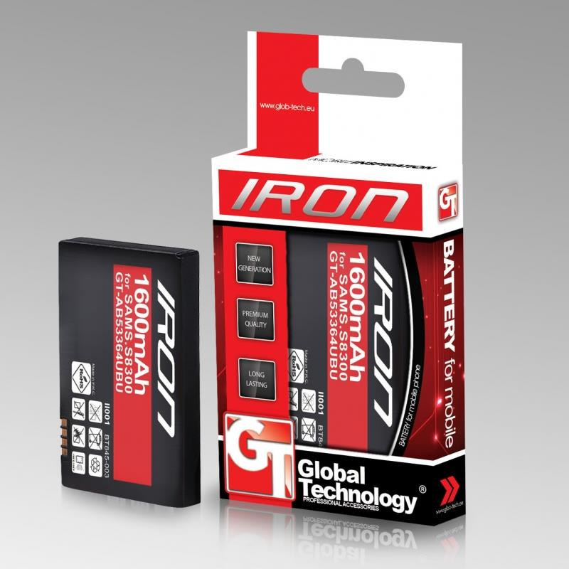 GT Iron baterie pro Samsung S5360 Galaxy Y 1450mAh