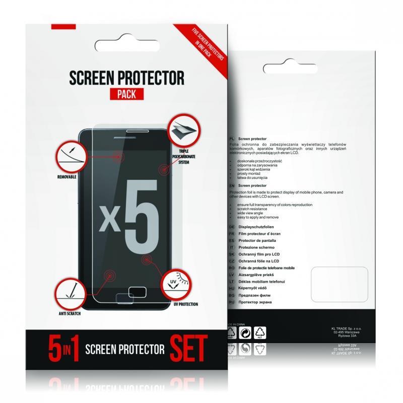 GT ochranná folie pro Samsung SM-G900F Galaxy S5 | 5-pack