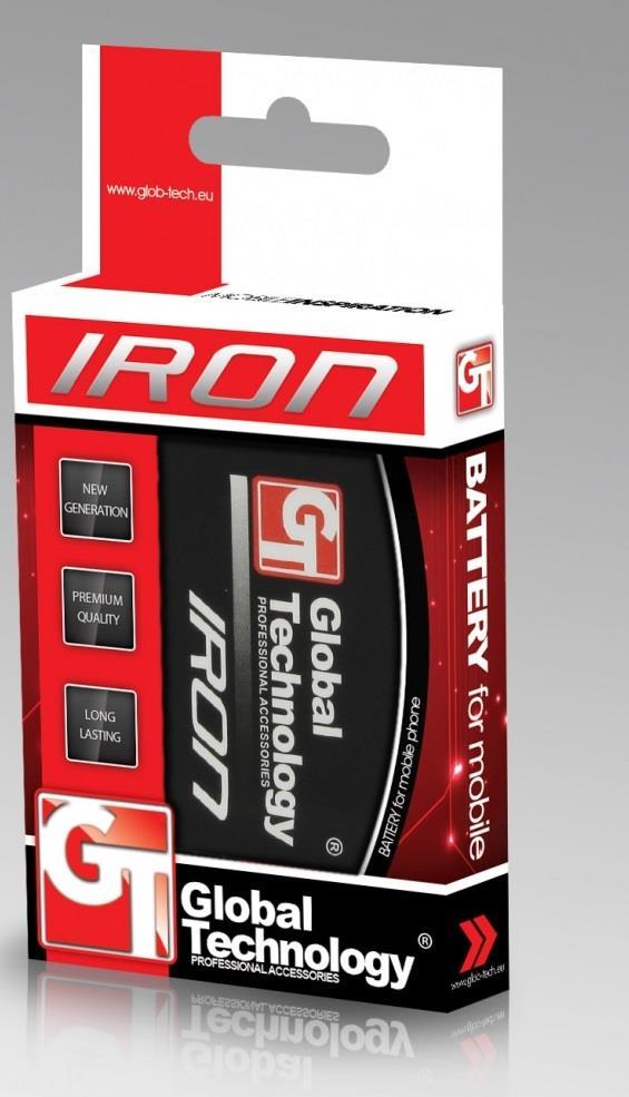GT IRON baterie pro LG L7 II (P710) 2500mAh (BL-59JH)
