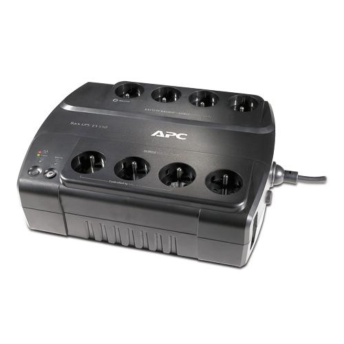 APC Power-Saving Back-UPS ES 700VA - green CyberFort, české balení a zásuvky