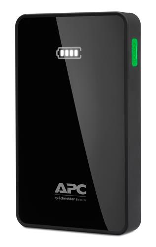 APC Mobile Power Bank, 5000mAh Li-polymer (for smatphones, tablets) Black