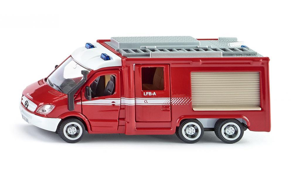Siku super Fire truck Mercedes Sprinter 6x6