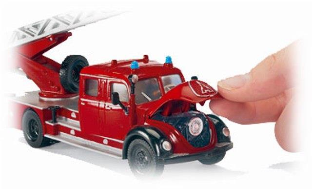 Siku Super fire truck Magirus with pump
