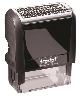 ID protection stamp: Trodat 4912 ID