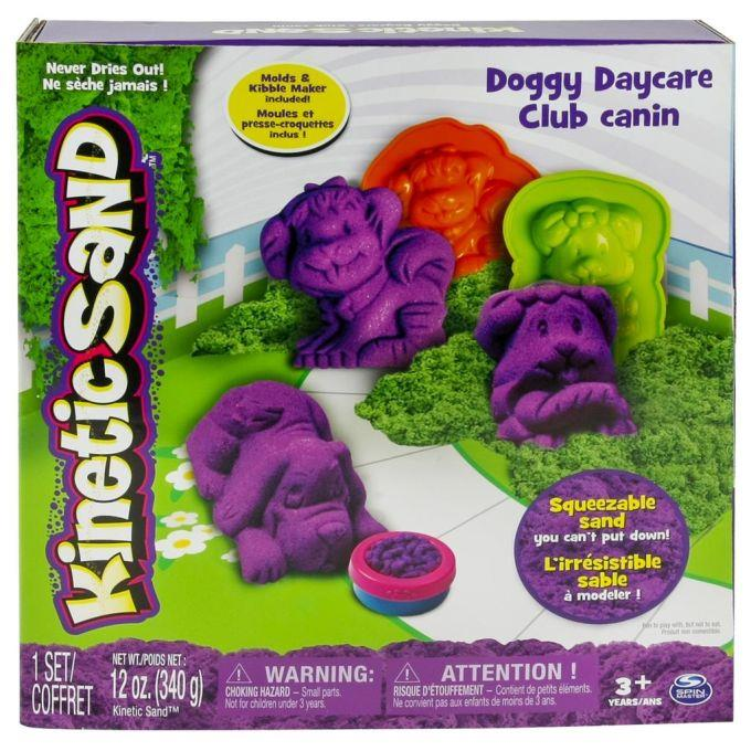 Kinetic Sand + dog shaped moulds 340g