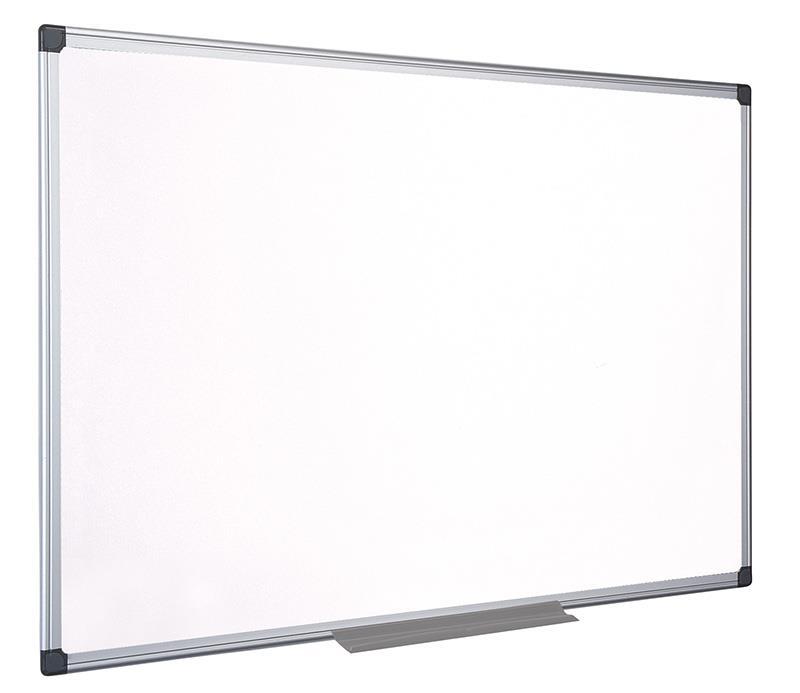 Bílá tabule na psaní , BI-OFFICE Top Professional, 60x45cm, keramické, hliníkový