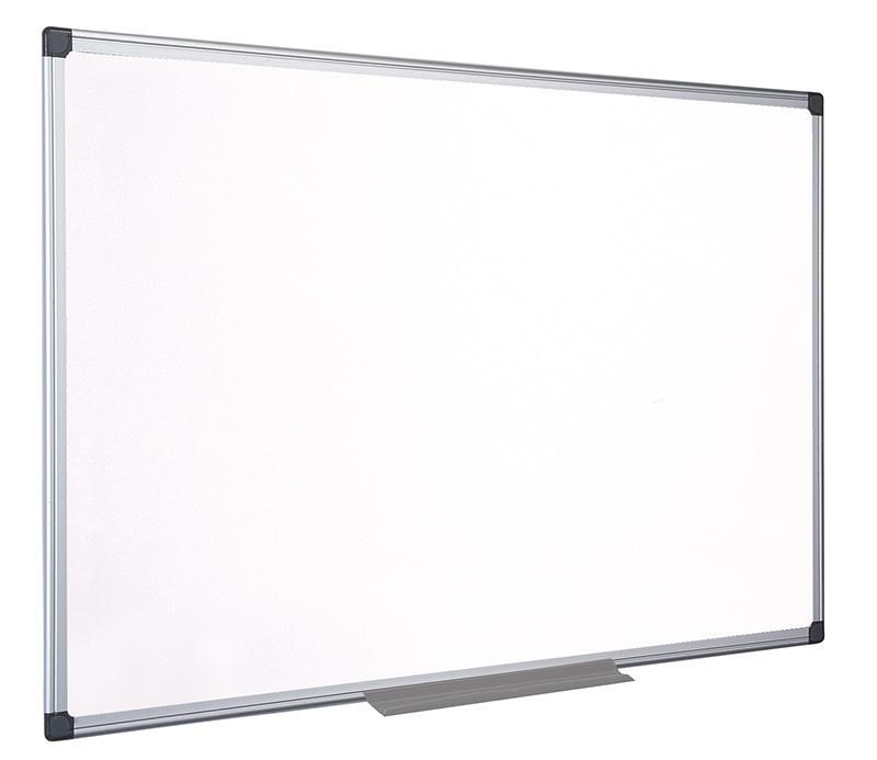 Bílá tabule na psaní , BI-OFFICE Top Professional, 90x60cm, keramické, hliníkový