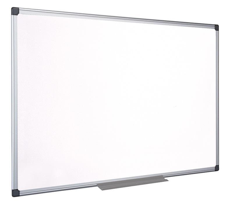 Bílá tabule na psaní , BI-OFFICE Top Professional, 120x90cm, keramický, hliníkov