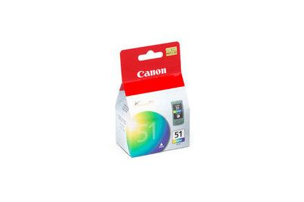 Hlava Canon CL51 (CL-51) barevná | 21ml | iP2200/6210/6220/MP150/170