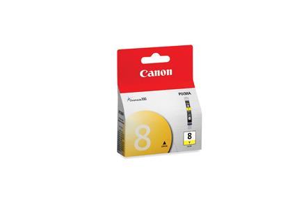 Inkoust Canon CLI8Y žlutý 13ml iP3300/4200/4300/5200/5300/6600/6700/MP500/600/