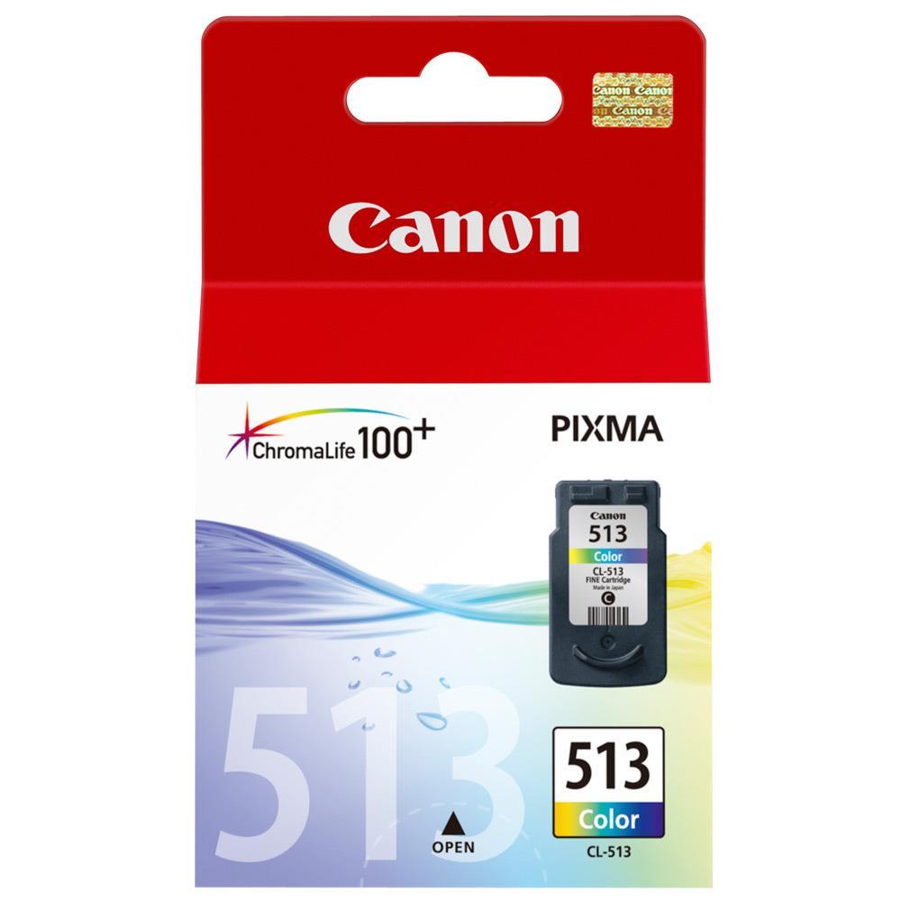 Inkoust Canon CL513 (CL-513) barervný | MP240/MP260/MP270/MP480/MX360