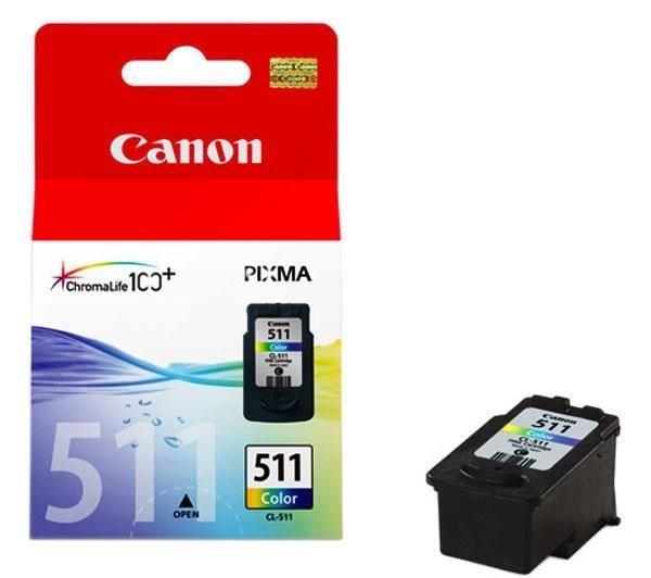 Inkoust Canon CL511 (CL-511) barevná | MP240/MP260/MP270/MX360