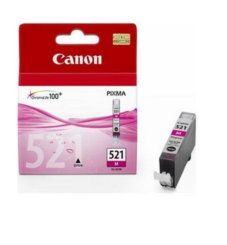 Inkoust Canon CLI521M (CLI-521M) magenta | iP3600/iP4600/MP540/MP620/MP630/MP980