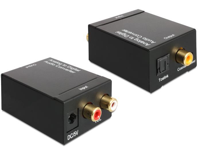 Delock Audio konvertor Analogový signál > Digitální signál