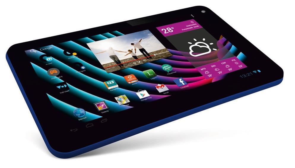 Lark FreeMe X2 9 Blue, 9'' TN, 1GHz, 8GB, 512MB RAM, Android 4.4, modrý