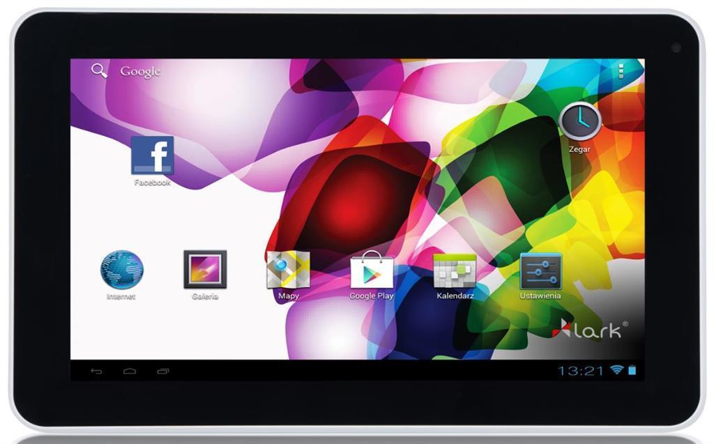 Lark FreeMe X2 9 White, 9'' TN, 1GHz, 8GB, 512MB RAM, Android 4.4, bílý