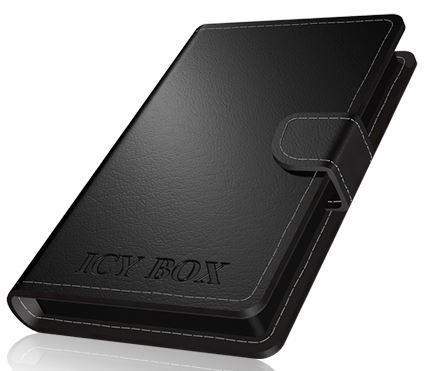 Icy Box External enclosure for 2.5'' SATA HDD/SSD, USB 3.0, Black
