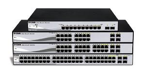 D-Link 10-port 10/100/1000 Gigabit PoE Smart Switch including 2 Combo 1000BaseT