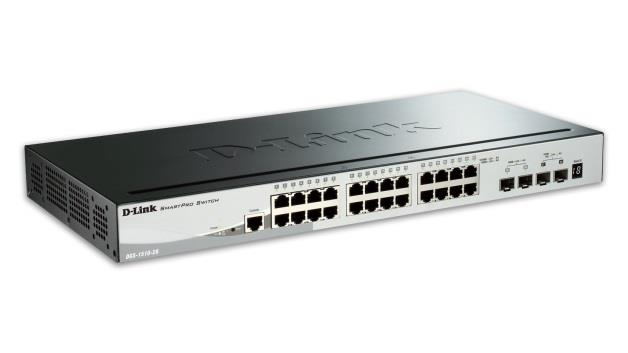 D-Link 52-Port Gigabit Stackable SmartPro Switch 2x SFP and 2x 10G SFP+ ports