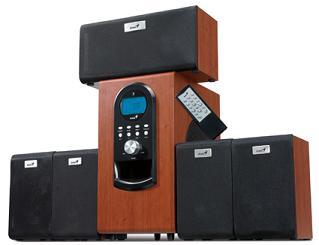 Genius reproduktory SW-HF 5.1 6000, dřevo