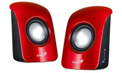 Genius reproduktory SP-U115, red
