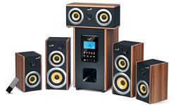 Genius reproduktory SW-HF5.1 5200, 150W, dřevěné