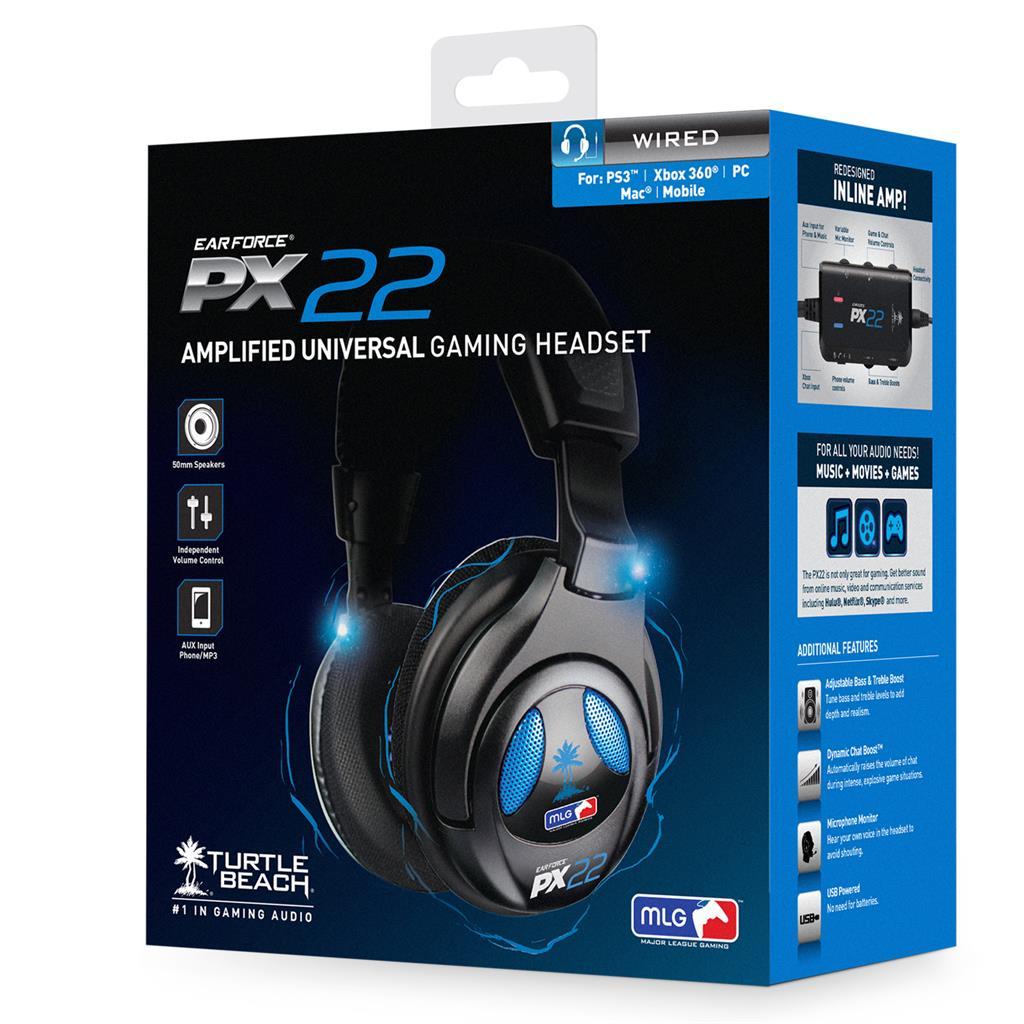 Turtle Beach EAR FORCE PX22 PS3 sluchátka s mikrofonem