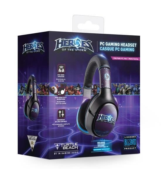 Turtle Beach EAR FORCE HEROES OF THE STORM sluchátka s mikrofonem