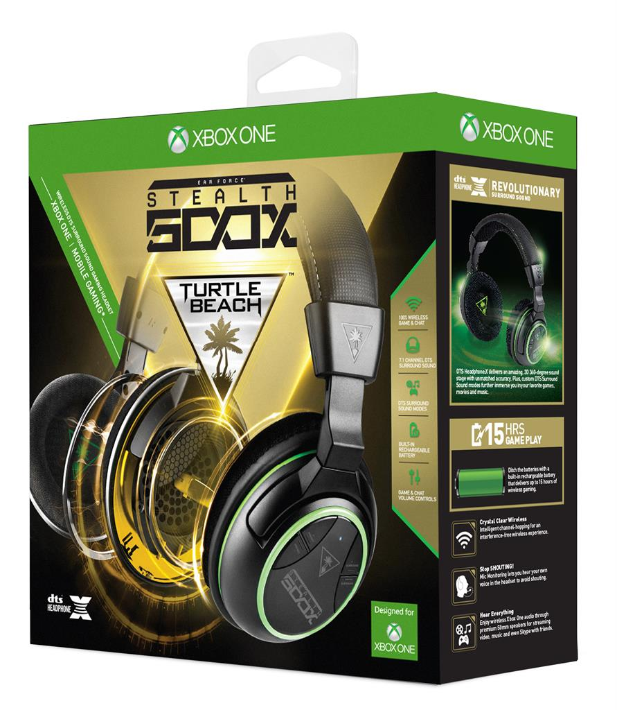 Turtle Beach EAR FORCE Stealth 500X sluchátka s mikrofonem