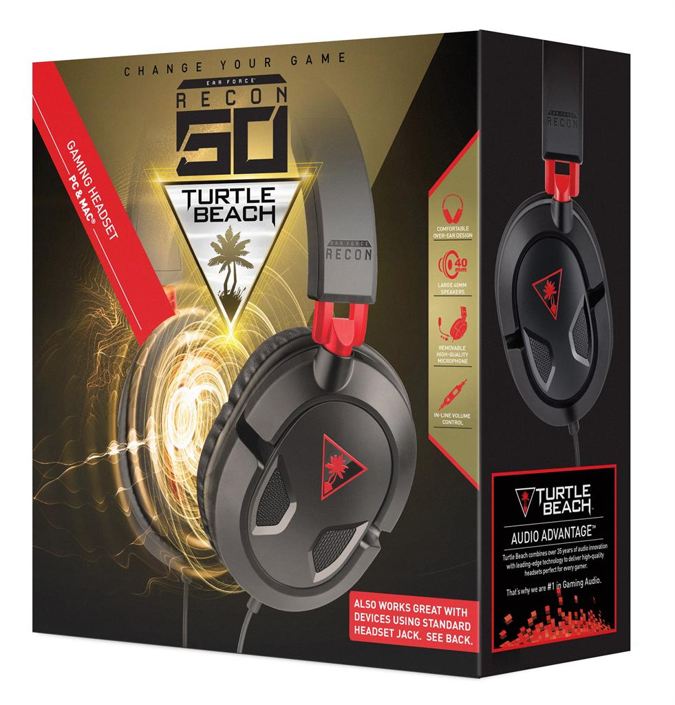 Turtle Beach EAR FORCE RECON 50 sluchátka s mikrofonem