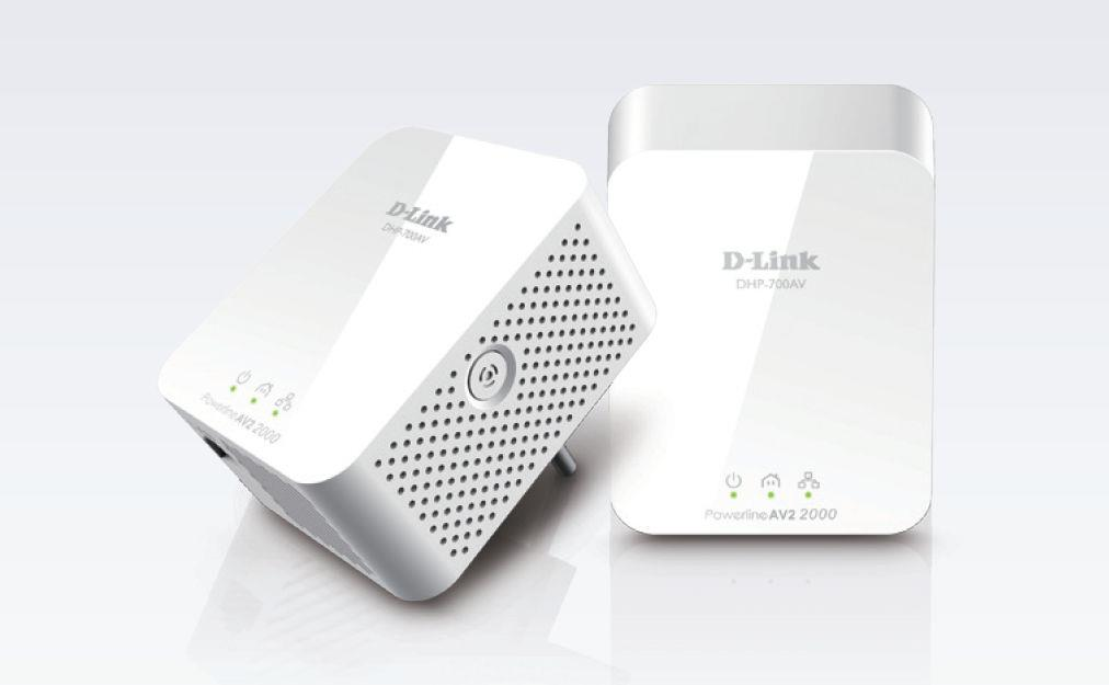 D-Link PowerLine AV2 2000 HD Gigabit Starter Kit