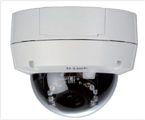 D-Link Securicam Day & Night Megapixel WDR Fixed Dome Network Camera, PoE, H.264
