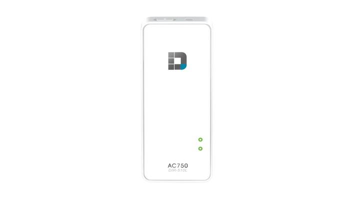 D-Link Wi-Fi AC750 Portable Router and Charger