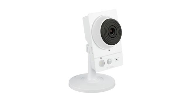 D-Link Wireless AC Day/Night Camera w/ Color Night Vision, 16GB micro SD card