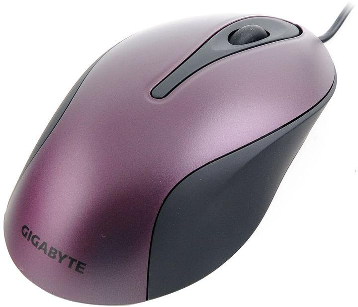 Gigabyte Optical Mouse M5100, Purple