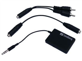 Sandberg adaptér Bluetooth Audio Link, černý