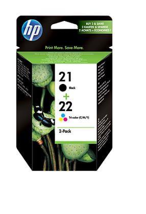 Inkoust HP 21/22 Combo-Pack | D1560/D1320/F2280/F2290/J3680