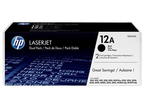 Toner HP black dual pack | 2x2000str | LaserJet1010/1012/1015/1020