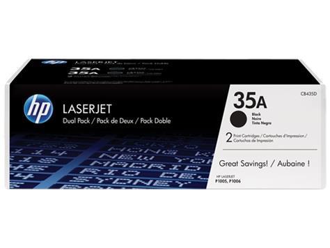 Toner HP black dual pack | 2x1500str | LaserJet P1005/P1006