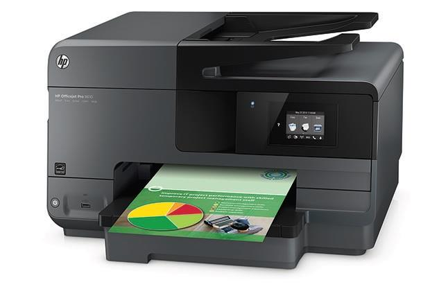HP Officejet Pro 8610 e-All-in-One A4 čb/19str| bar/14,5str| USB| WIFI| LAN