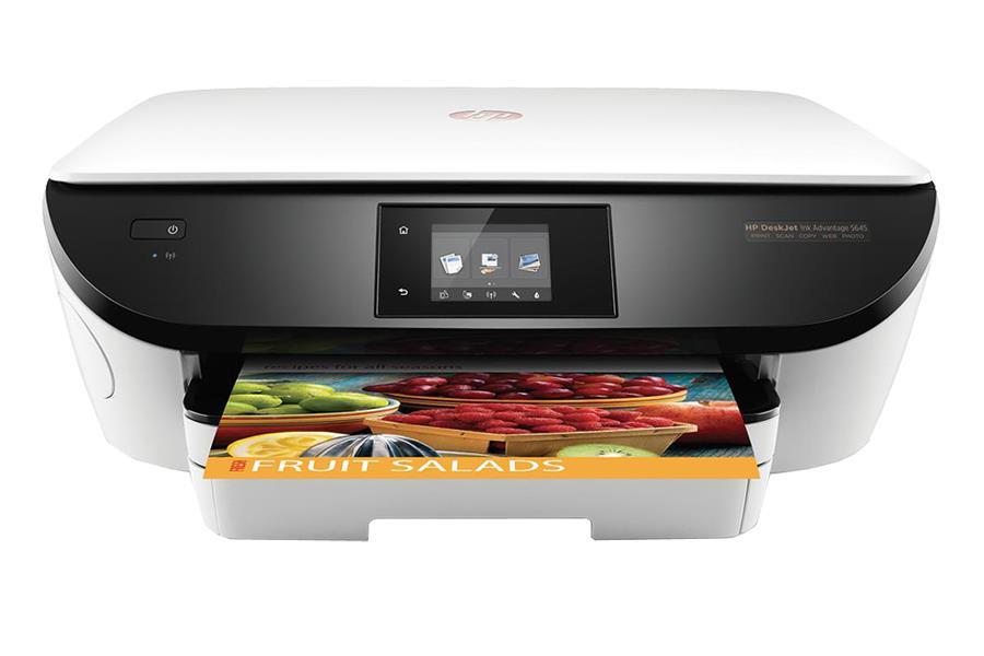 Multifunkce HP Deskjet 5645 Ink Advantage WiFi MFP A4 bar/16str| čb/20str| USB